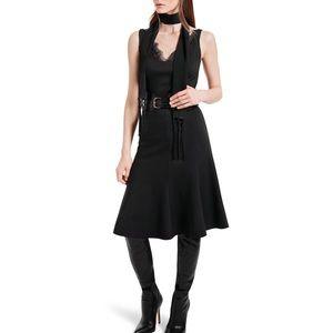 Altuzarra For Target | Ponte Dress Lace Neckline